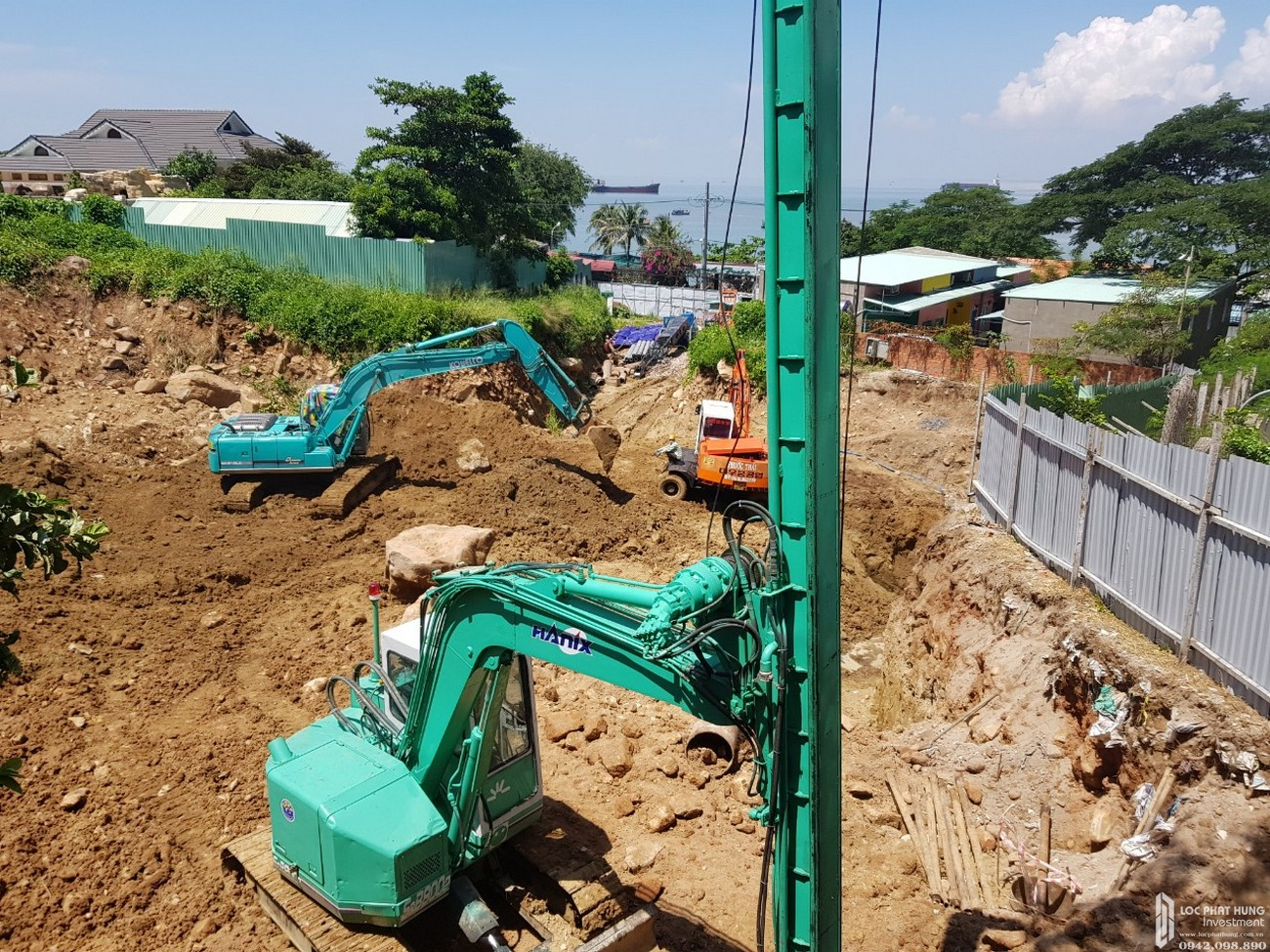Tiến độ xây dựng dự án Condotel Oyster Gành Hào Vũng Tàu tháng 09/2019