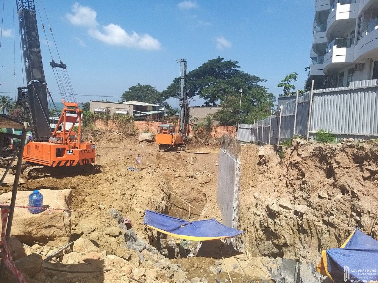 Tiến độ xây dựng dự án Condotel Oyster Gành Hào Vũng Tàu tháng 10/2019