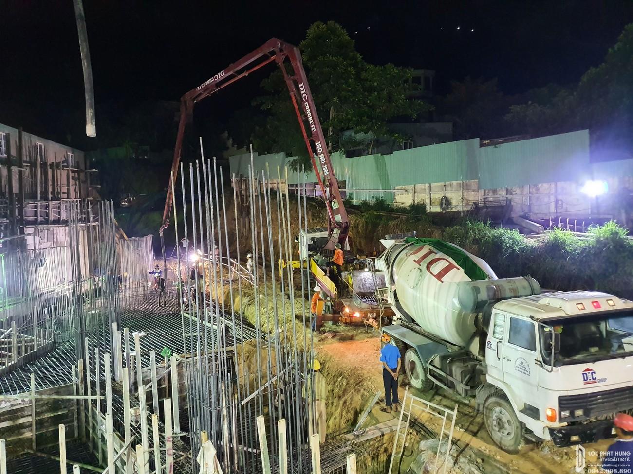 Tiến độ dự án căn hộ Condotel Oyster Gành Hào đường Trần Phú chủ đầu tư Vietpearl Group tháng 11/2019