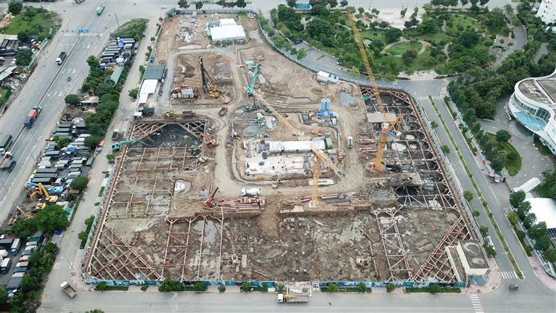 Tiến độ xây dựng West Gate Bình Chánh tháng 06/2021