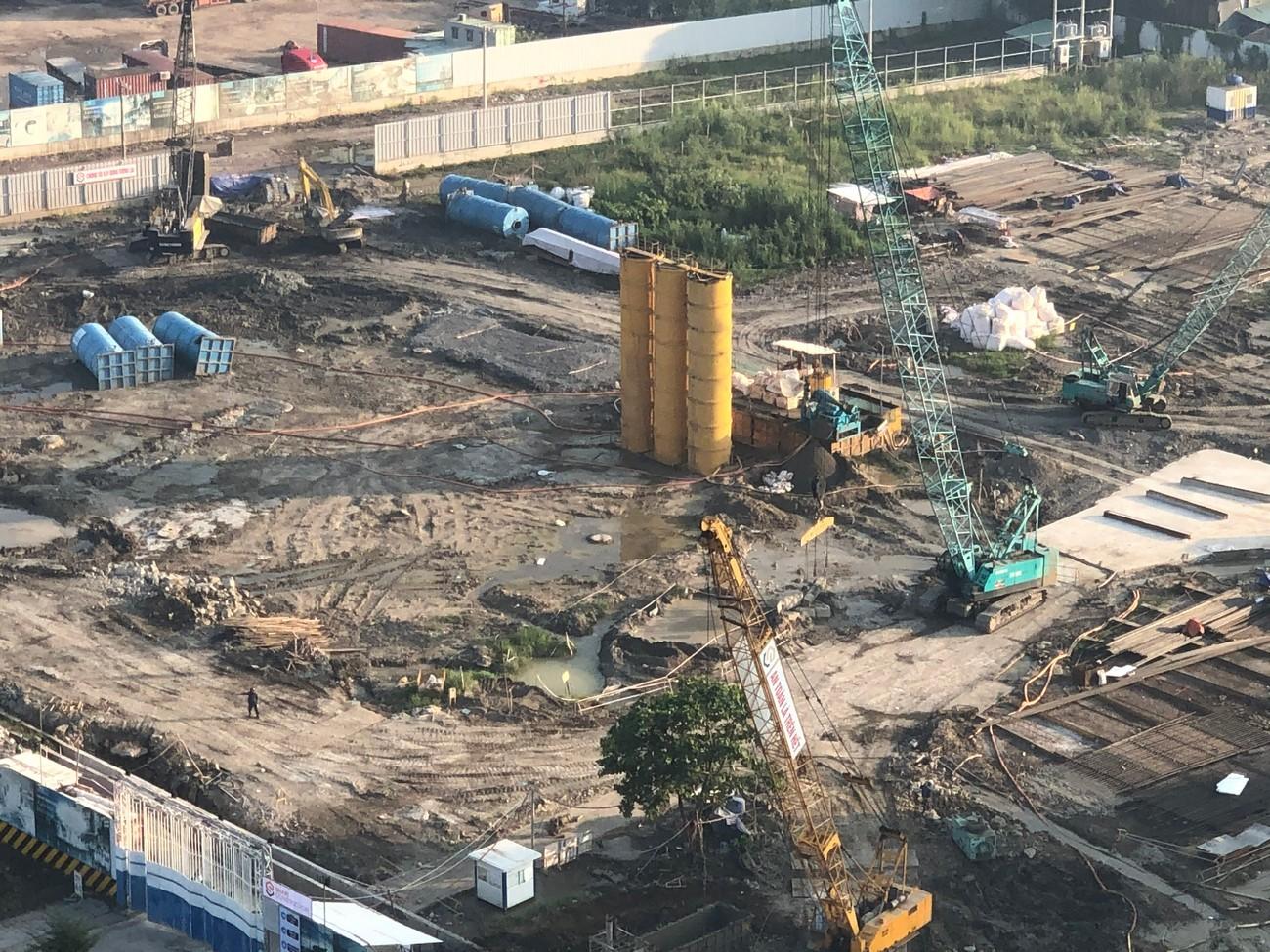 Tiến độ xây dựng dự án căn hộ Sunshine Diamond River Quận 7 09/2020