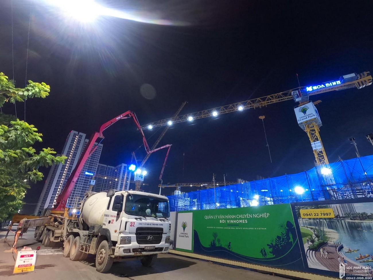 Tiến độ xây dựng Thần Tốc phân khu THE ORIGAMI mới nhất ngày 10/09/2020