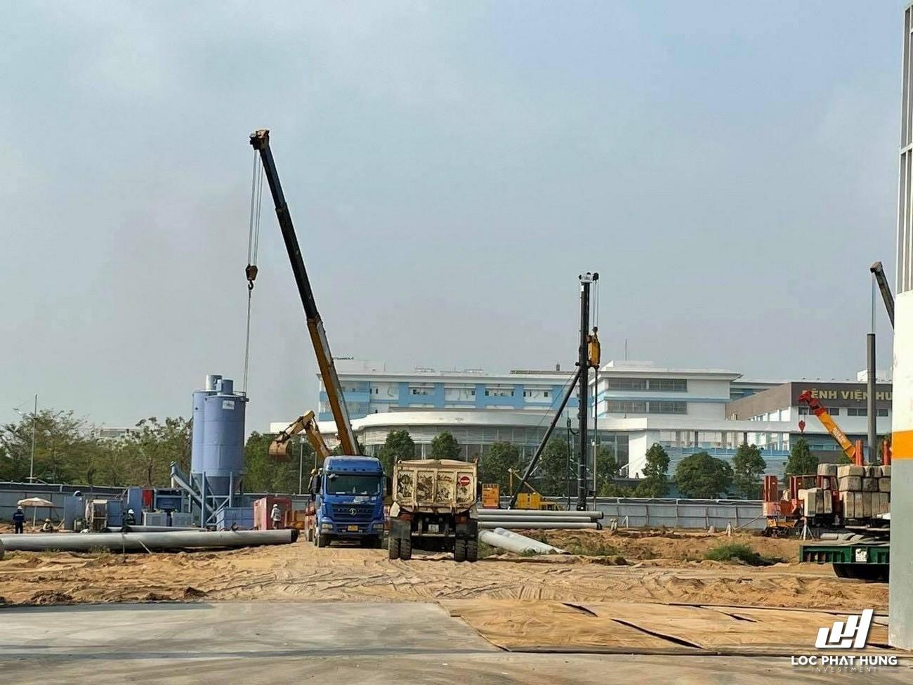 Tiến độ xây dựng West Gate Bình Chánh 13/03/2021