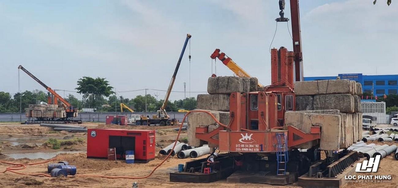 Tiến độ xây dựng West Gate Bình Chánh 18/01/2021