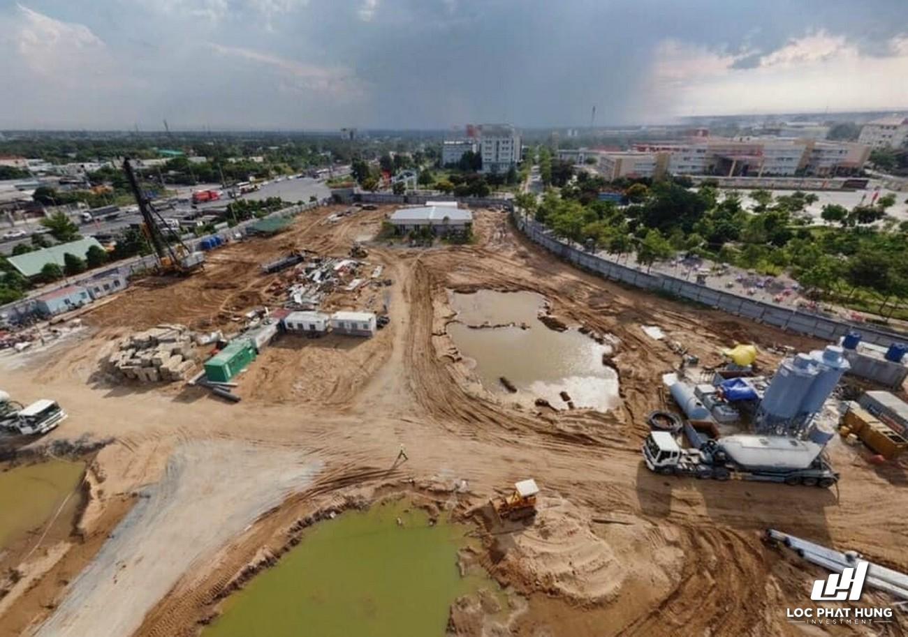 Tiến độ xây dựng West Gate Bình Chánh 27/04/2021