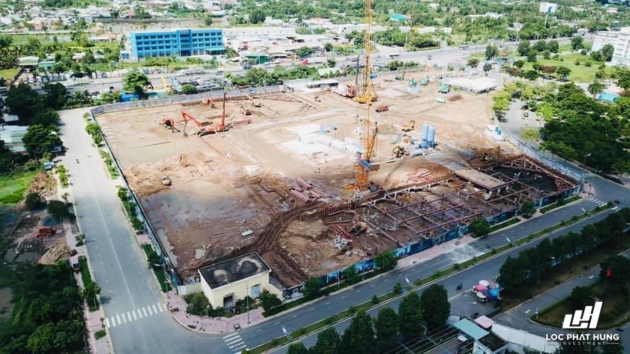 Tiến độ xây dựng West Gate Bình Chánh 28/05/2021