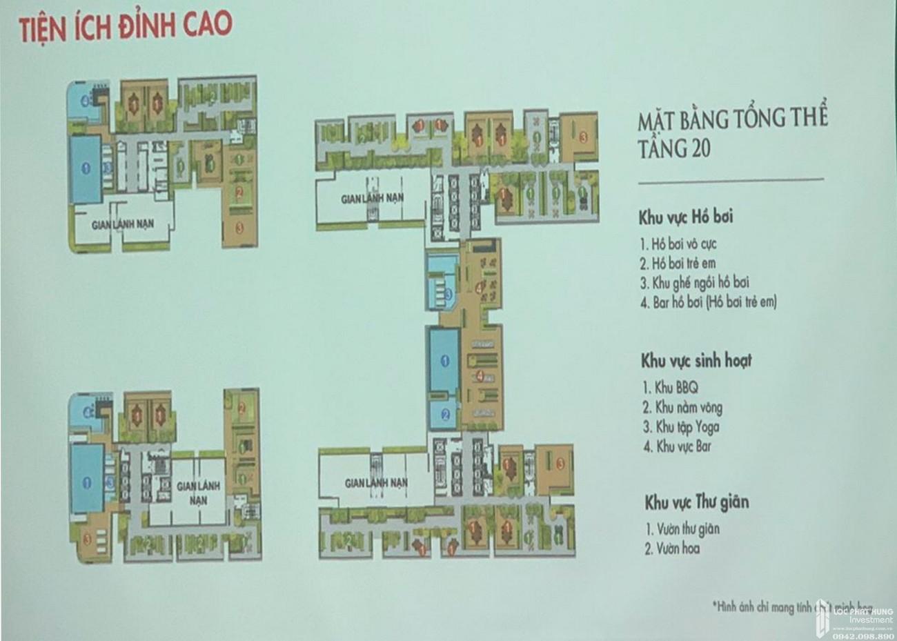 Tiện ích đẳng cấp tầng 20 dự án TTTM và căn hộ cao cấp Astral City Bình Dương