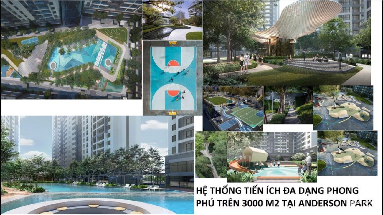 "Khu phức hợp cao cấp ""All in one"" Anderson Park"