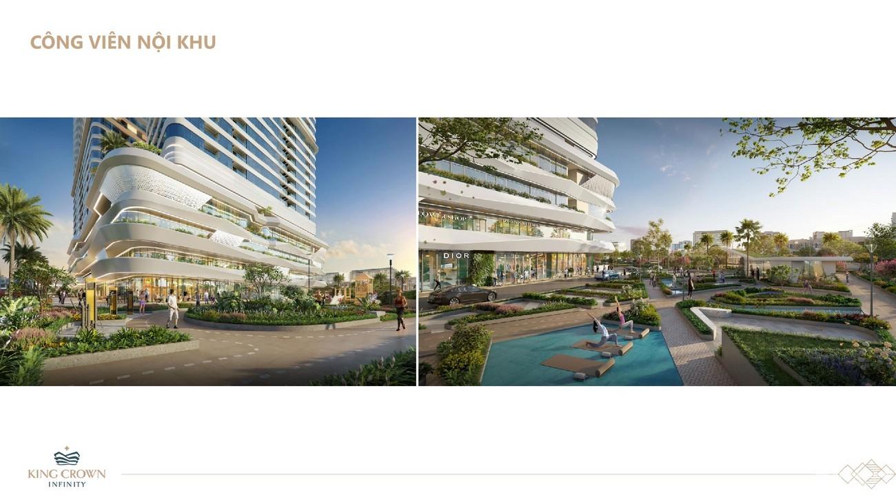 Tiện ích dự án căn hộ chung cư King Crown Infinity Thủ Đức Đường Võ Văn Ngân chủ đầu tư Gia Khang
