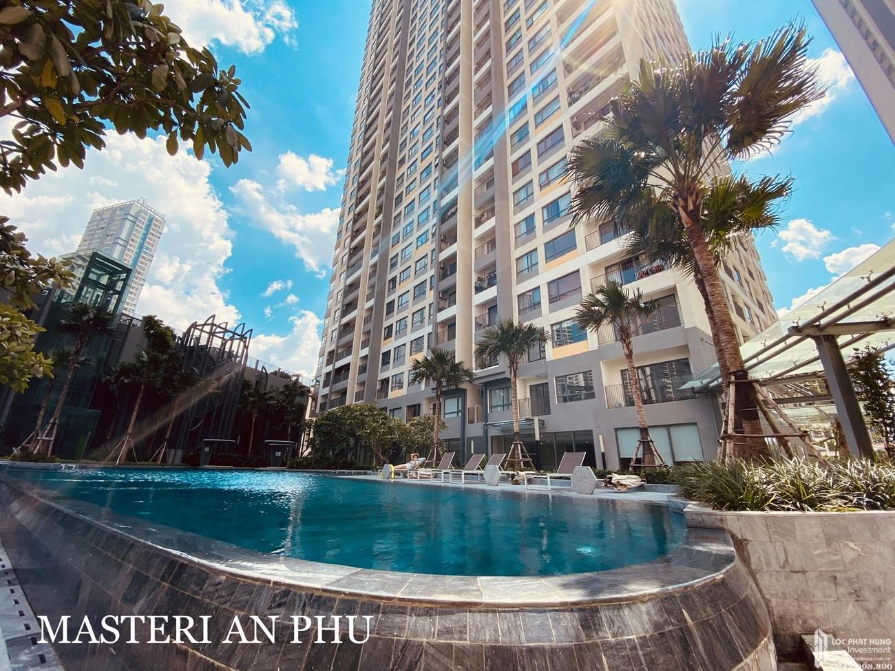 Tiện ích dự án căn hộ chung cư Masteri An Phú Quận 2 Đường 179 Xa lộ Hà Nội chủ đầu tư Masterise Homes