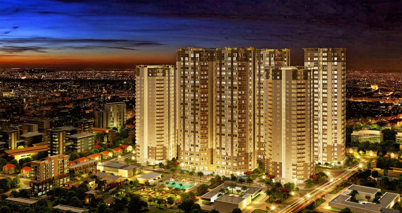 Phối cảnh tổng thể dự án căn hộ chung cư Central Premium Quận 8 Đường Tạ Quang Bửu chủ đầu tư Giai Việt