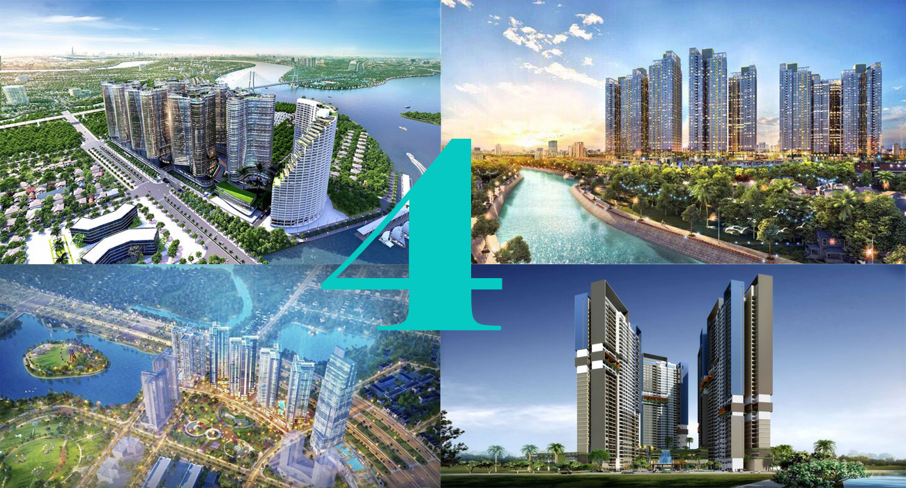 Top 4 dự án căn hộ nổi bật tại Quận 7 – dẫn đầu Sunshine Diamond River