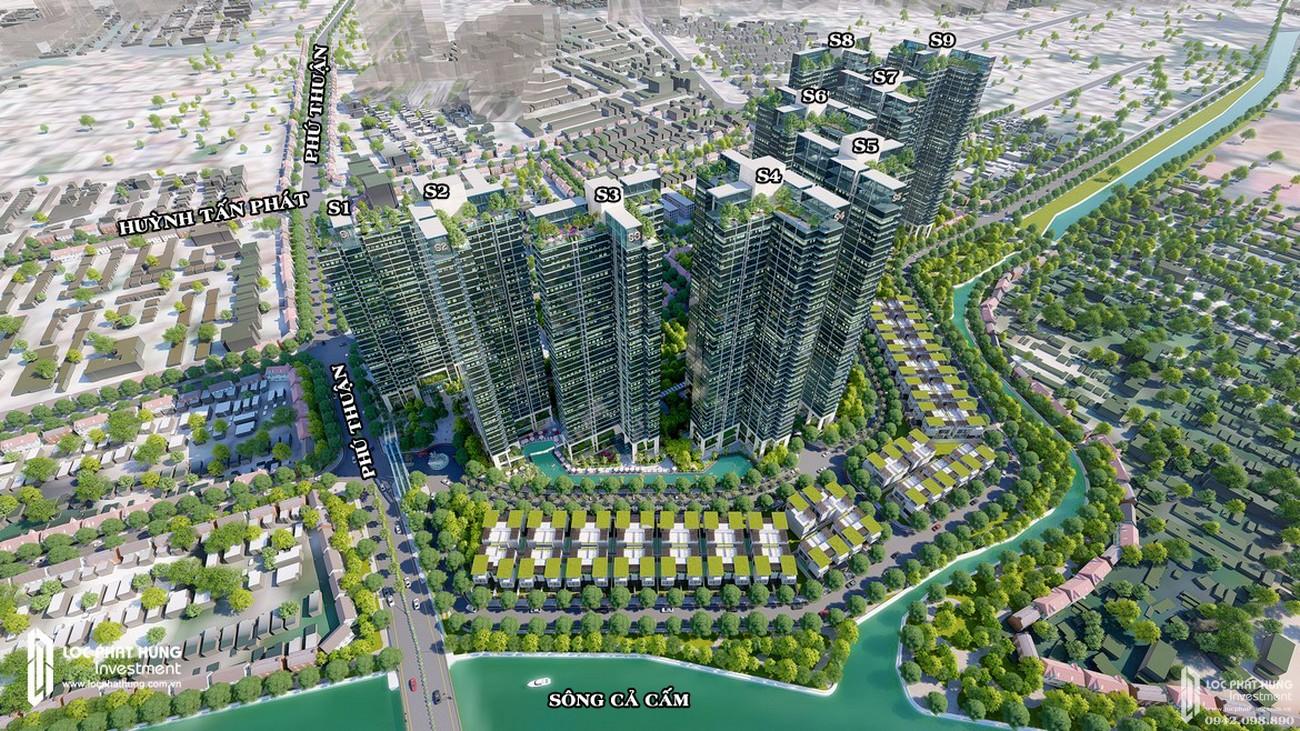 Phối cảnh tổng thể dự án Sunshine City Sài Gòn Nha Trang