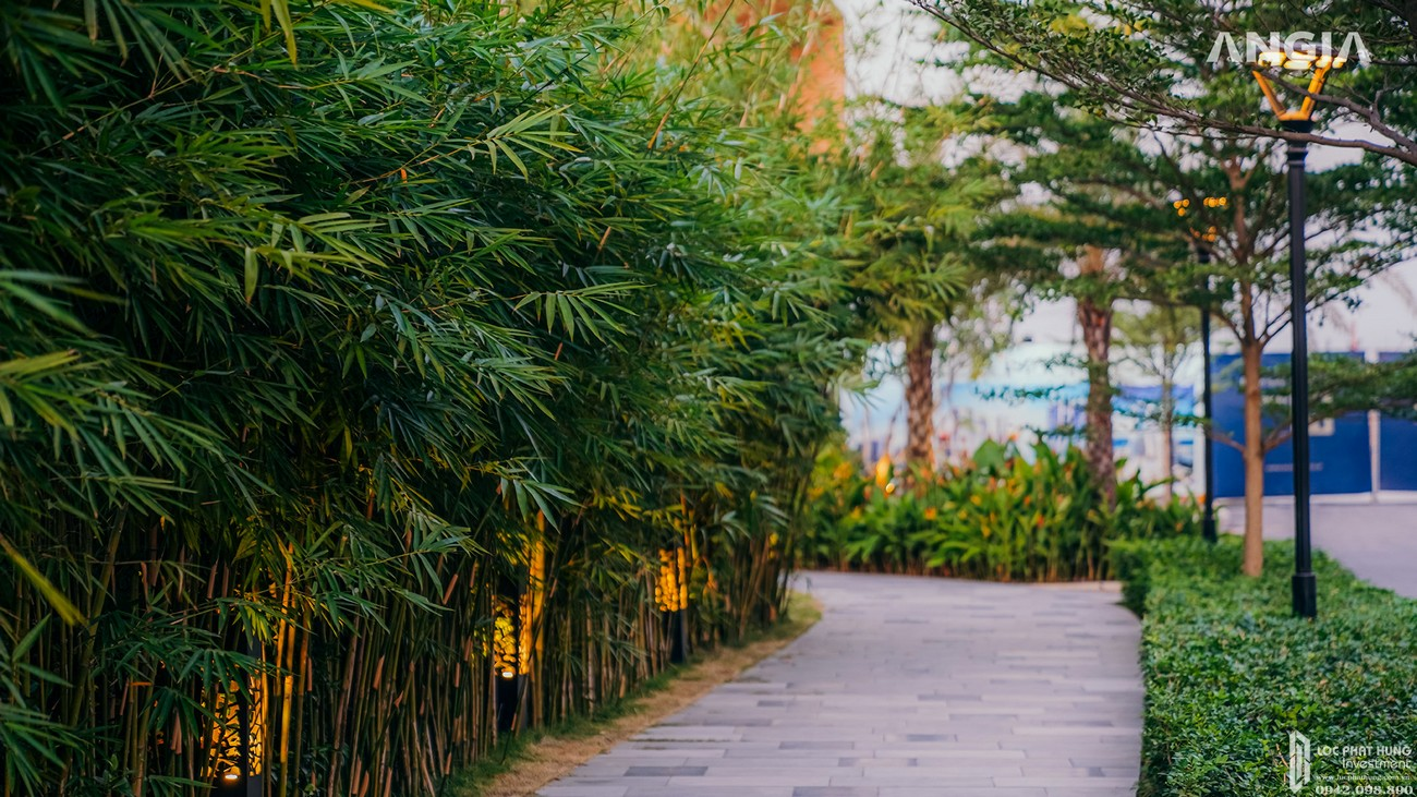 Hình ảnh thực tế dự án nhà phố The Standard Central Park chủ đầu tư An Gia