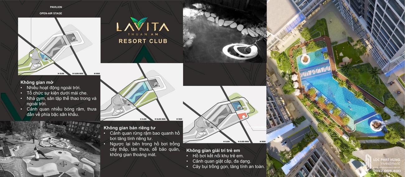 Tiện ích dự án  Resort Club Lavita Thuận An