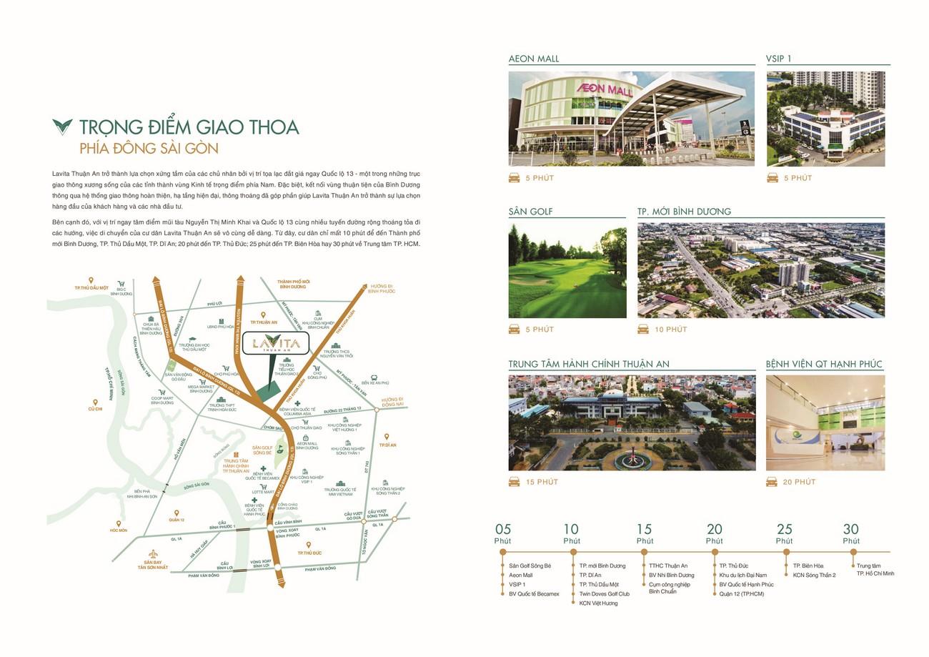 Liên kết vùng dự án căn hộ Lavita Hưng Thịnh Thuận An Bình Dương