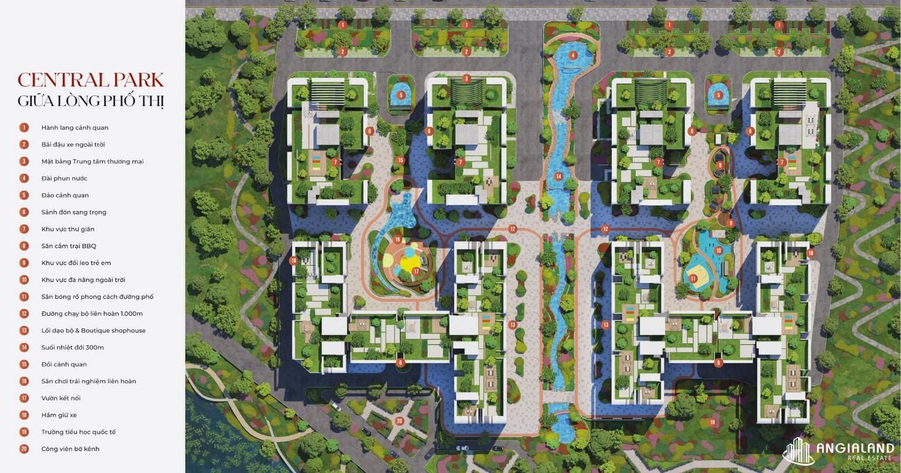 Mặt bằng dự án căn hộ chung cư Astral City Thuận An Đường Quốc lộ 13 chủ đầu tư Phát ĐFạt Group