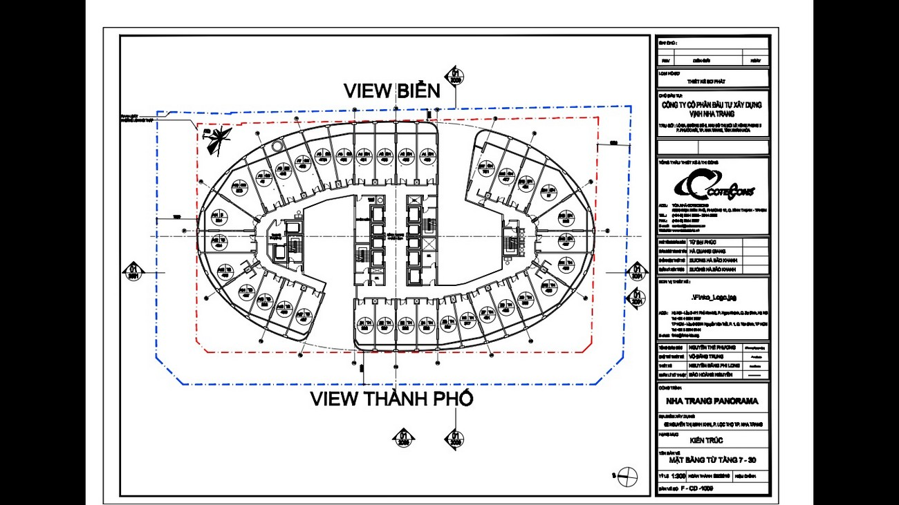 Mặt bằng dự án căn hộ Panorama Nha Trang