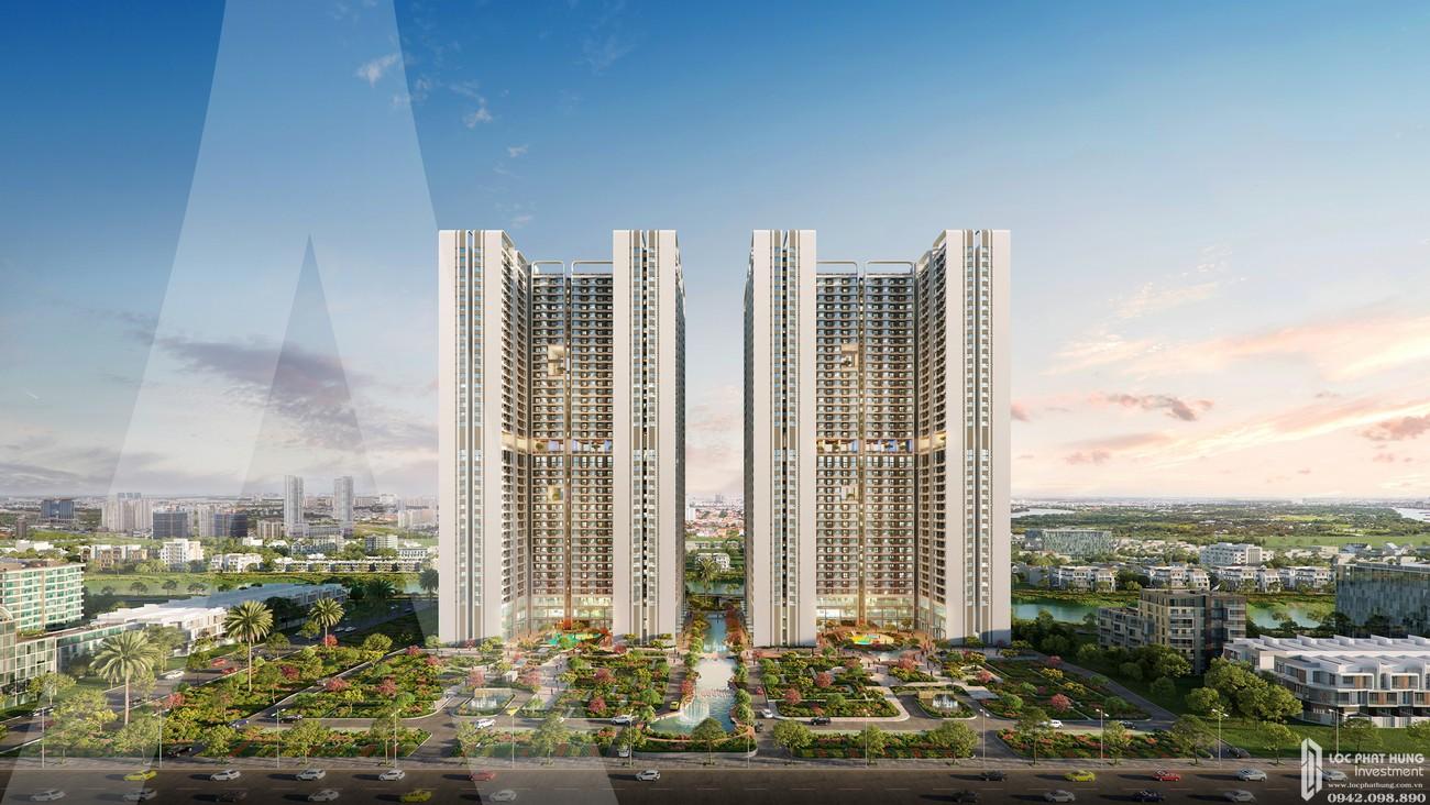 Phối cảnh dự án căn hộ Astral City Thuận An Đường Quốc lộ 13 chủ đầu tư Phát Đạt Group