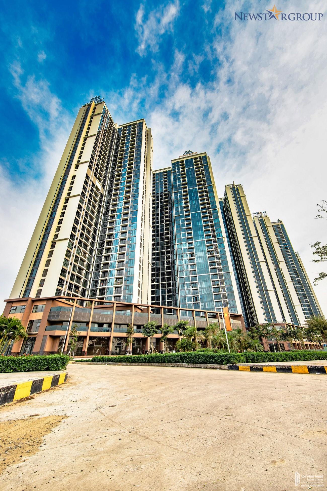 Phối cảnh dự án căn hộ chung cư Eco Green Sài Gòn Quận 7 Đường Nguyễn Văn Linh chủ đầu tư Xuân Mai