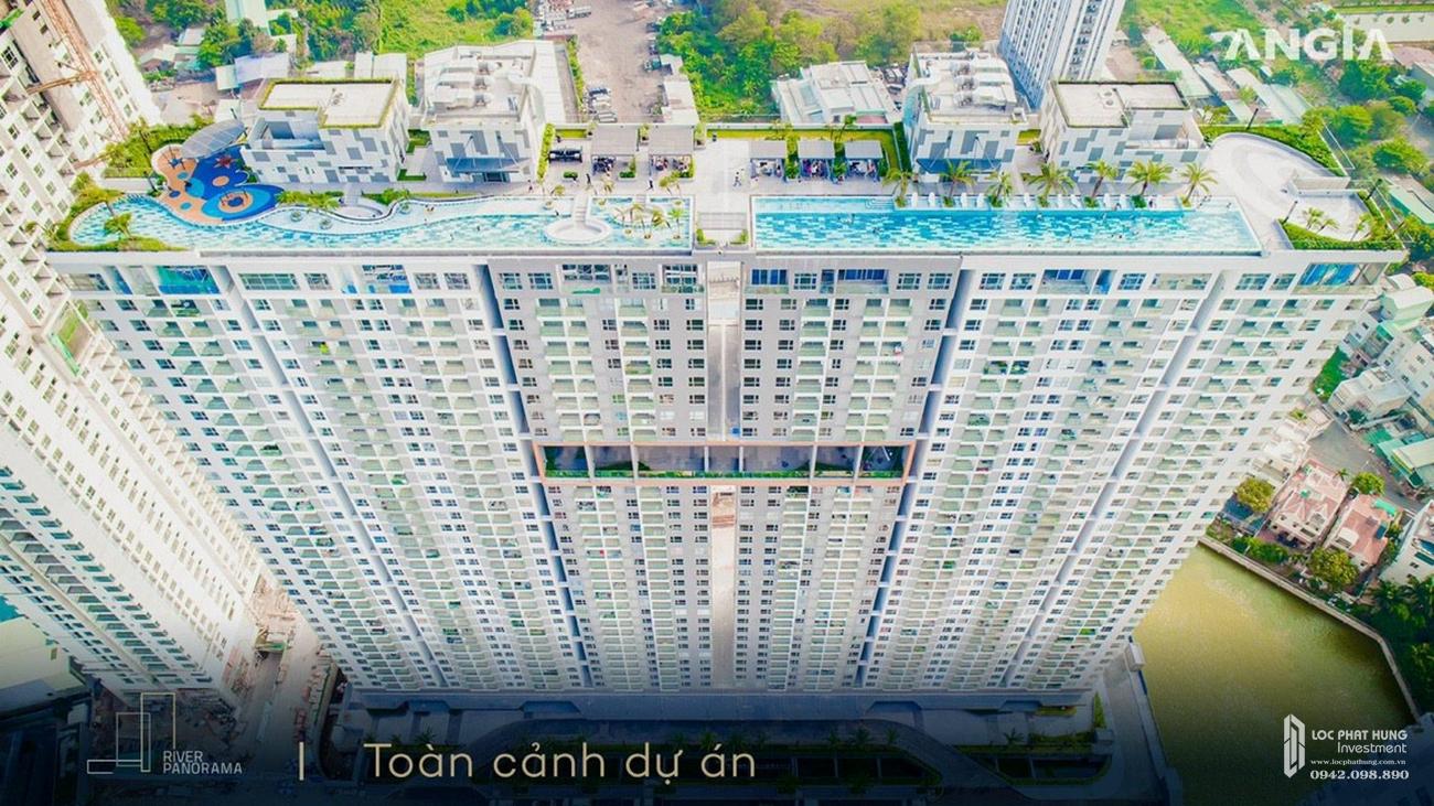 Phối cảnh tổng thể dự án căn hộ chung cư River Panorama Quận 7 Đường Hoàng Quốc Việt chủ đầu tư An Gia Investment