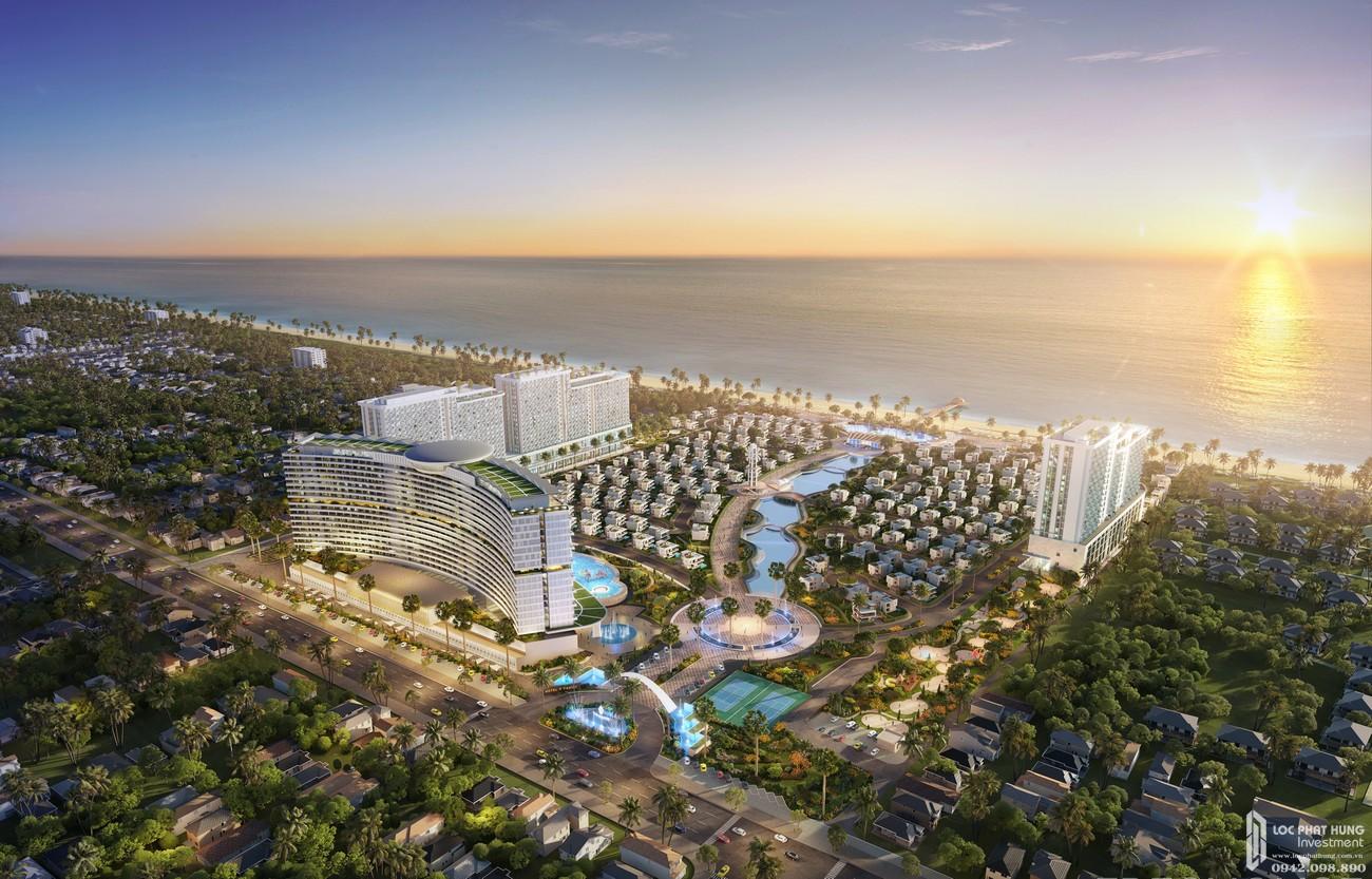 Phối cảnh tổng thể dự án căn hộ chung cư The Maris chủ đầu tư Trùng Dương Corp