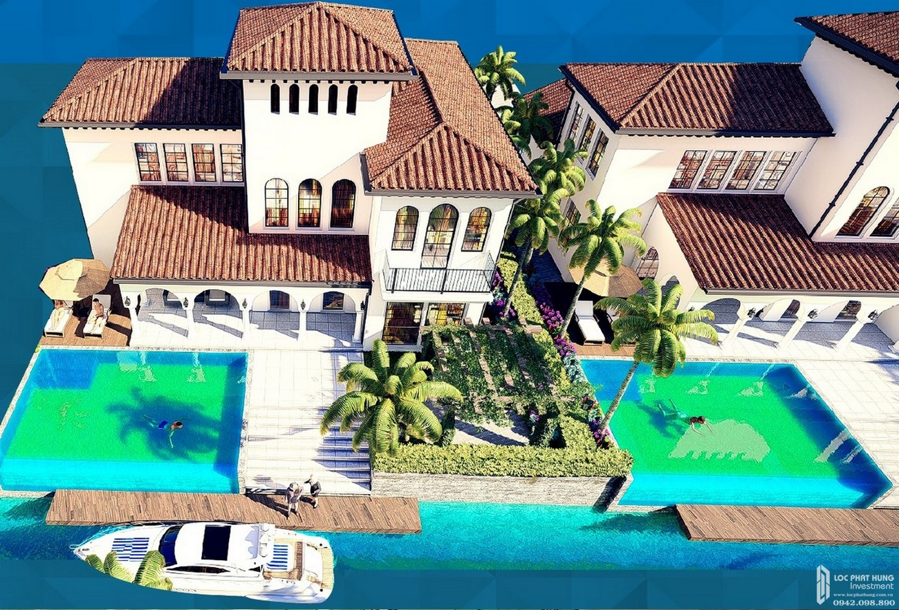 Thiết kế biệt thự dự án căn hộ nghỉ dưỡng Sunshine Diamond Bay Nha Trang