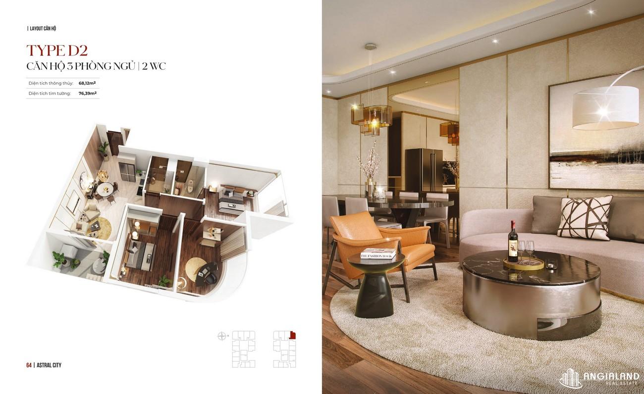 Thiết kế dự án căn hộ Astral City Thuận An Đường Quốc lộ 13 chủ đầu tư Phát Đạt Group