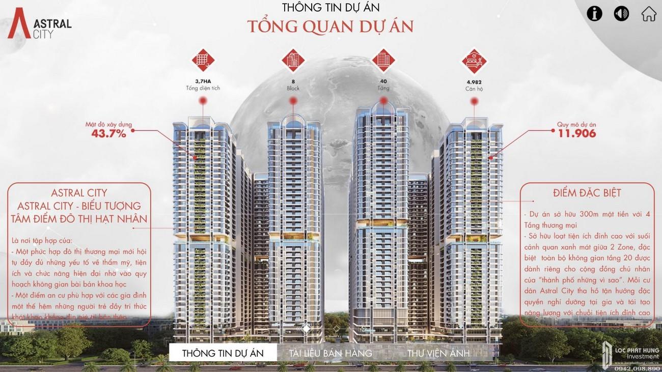Thông tin chi tiết căn hộ Astral City Thuận An Đường Quốc lộ 13 chủ đầu tư Phát Đạt Group