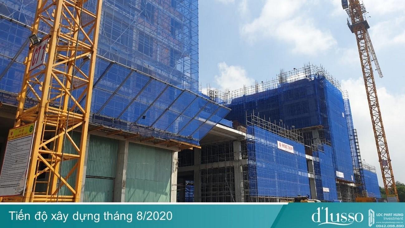 Tiến độ dự án căn hộ chung cư D'Lusso Quận 2 Đường Nguyễn Thị Định
