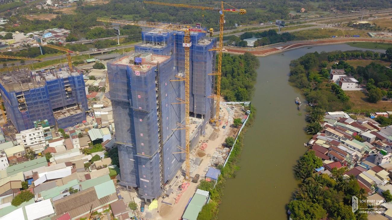 Tiến độ dự án căn hộ chung cư D'Lusso Quận 2 Đường Nguyễn Thị Định tháng 01/2021