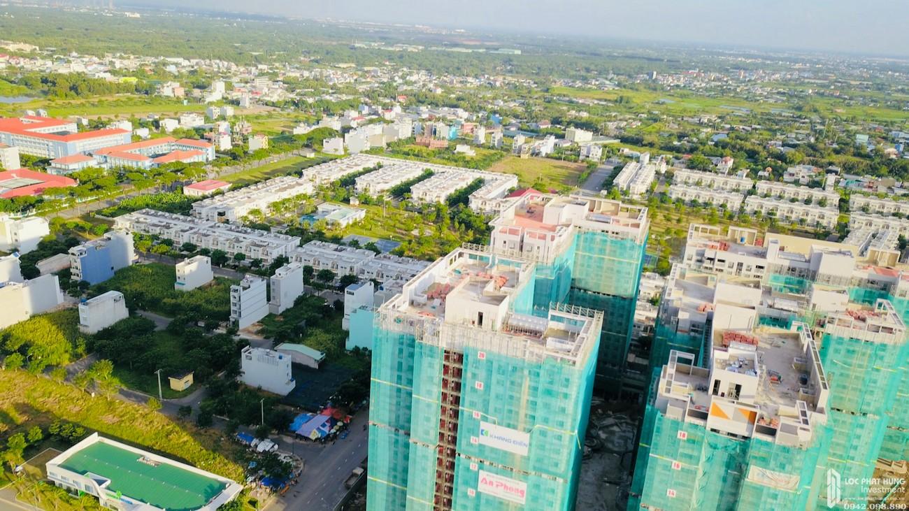 Tiến độ dự án căn hộ chung cư Lovera Vista Bình Chánh Đường Trịnh Quang Nghị chủ đầu tư Khang Điền