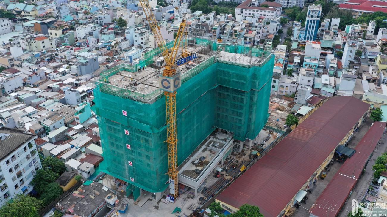 Tiến độ dự án căn hộ chung cư Saigon Asiana Quận 6 Đường Nguyễn Văn Luông chủ đầu tư Gotec Land