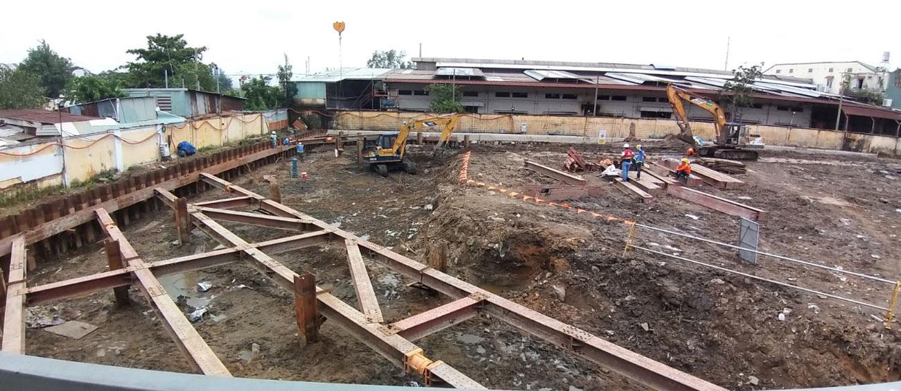Tiến độ dự án căn hộ The Pegasuite II quận 8 10/2020