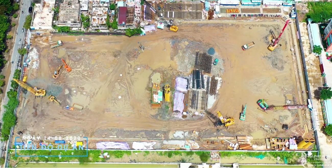 Tiến độ dự án căn hộ chung cư Sunshine Horizon Quận 4 Đường Tôn Thất Thuyết chủ đầu tư Sunshine Group
