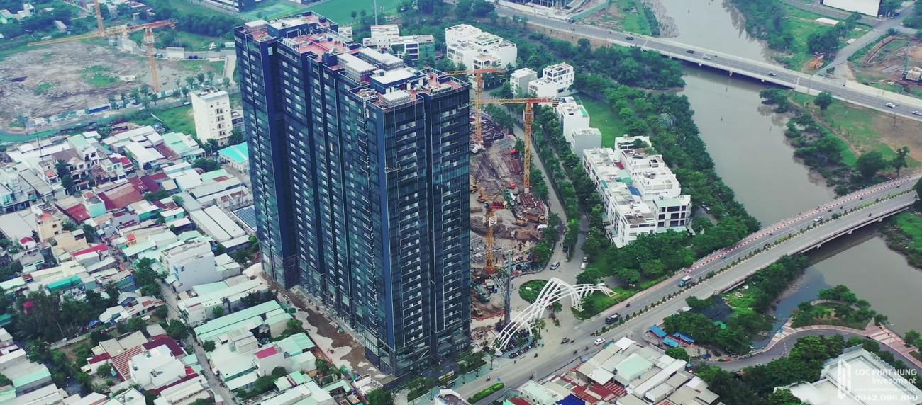 Tiến độ dự án căn hộ chung cư Sunshine City Sài Gòn Quận 7 Đường Phú Thuận chủ đầu tư Sunshine Group