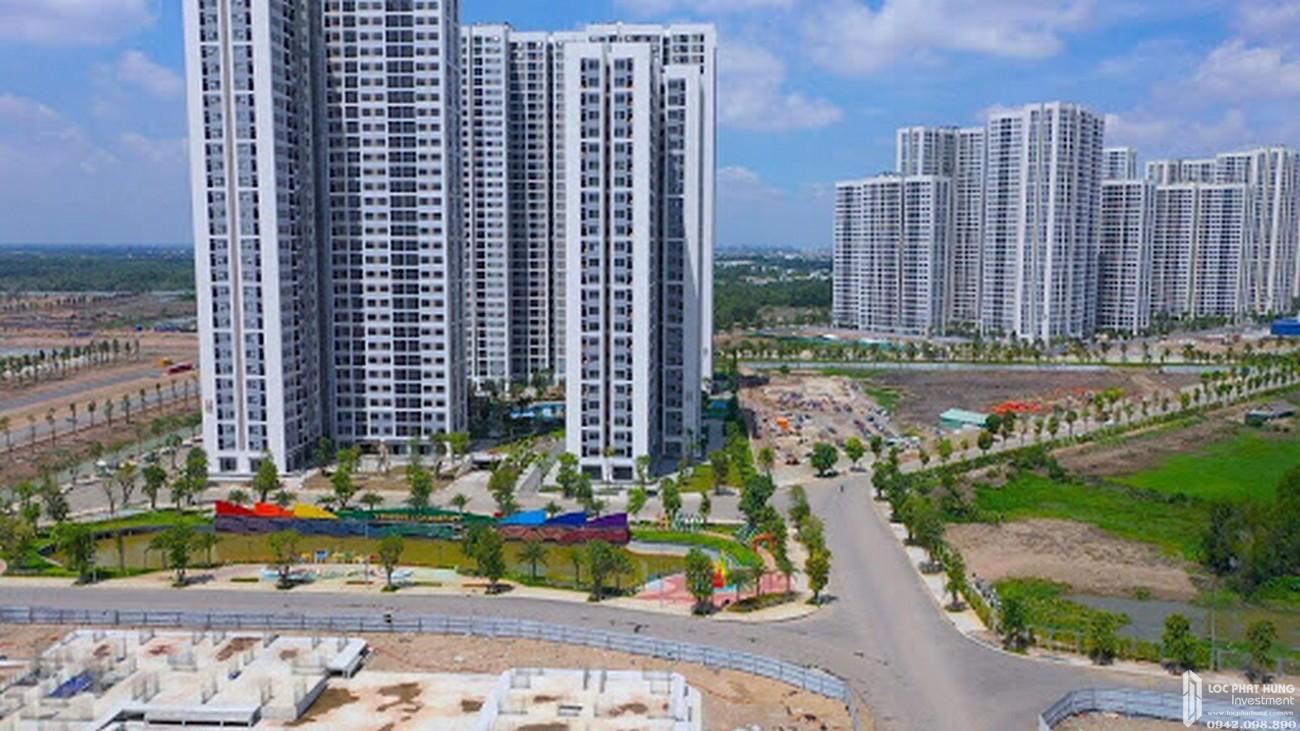 Tiến độ Vinhomes Grand Park Quận 9 Đường Nguyễn Xiển chủ đầu tư Vingroup