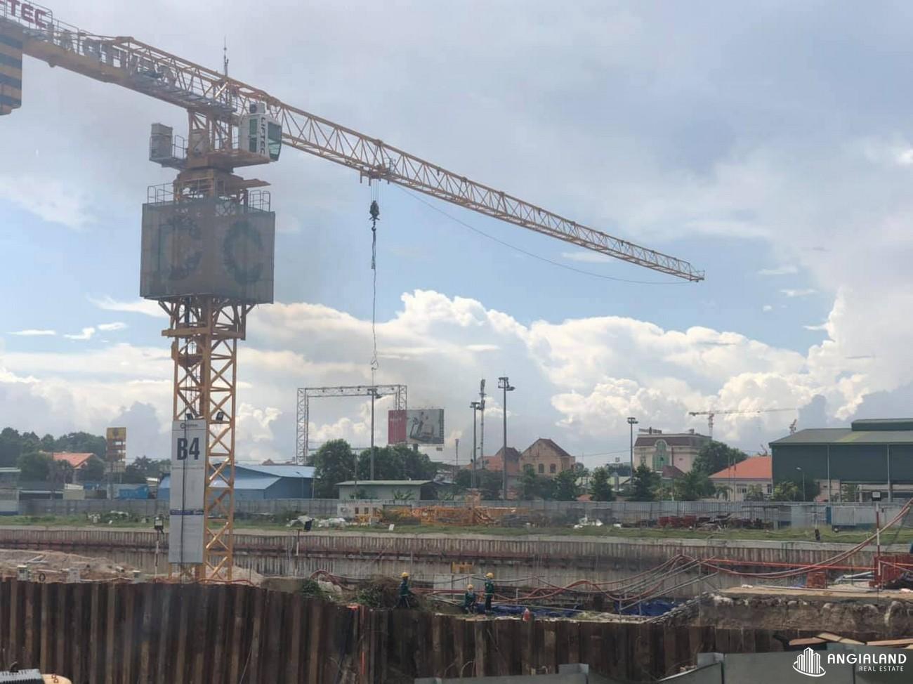 Tiến độ xây dựng dự án Astral City Bình Dương tháng 06/2021