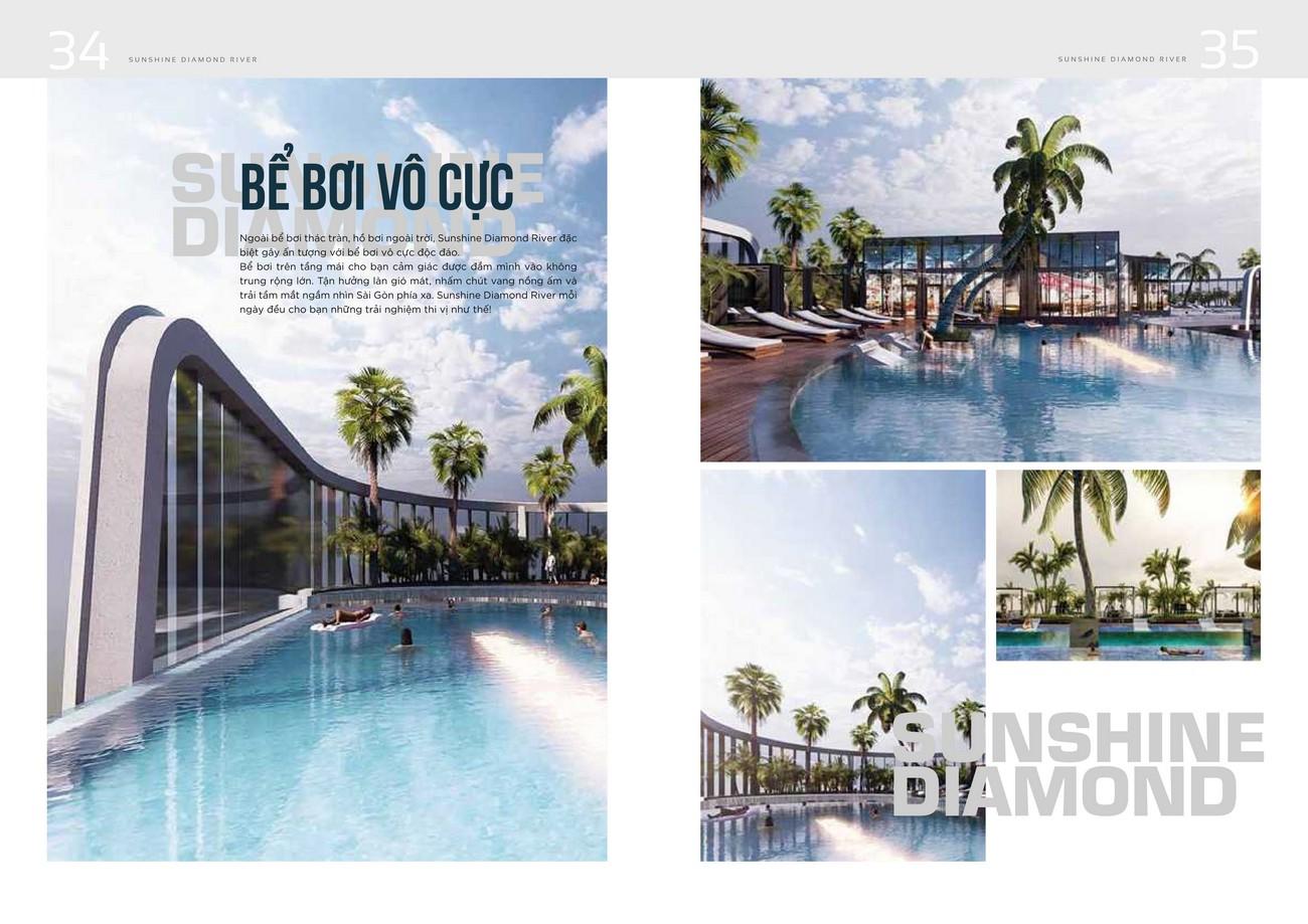Tiện ích dự án căn hộ chung cư Sunshine Diamond River Quận 7 Đường Đào Trí chủ đầu tư Sunshine Group