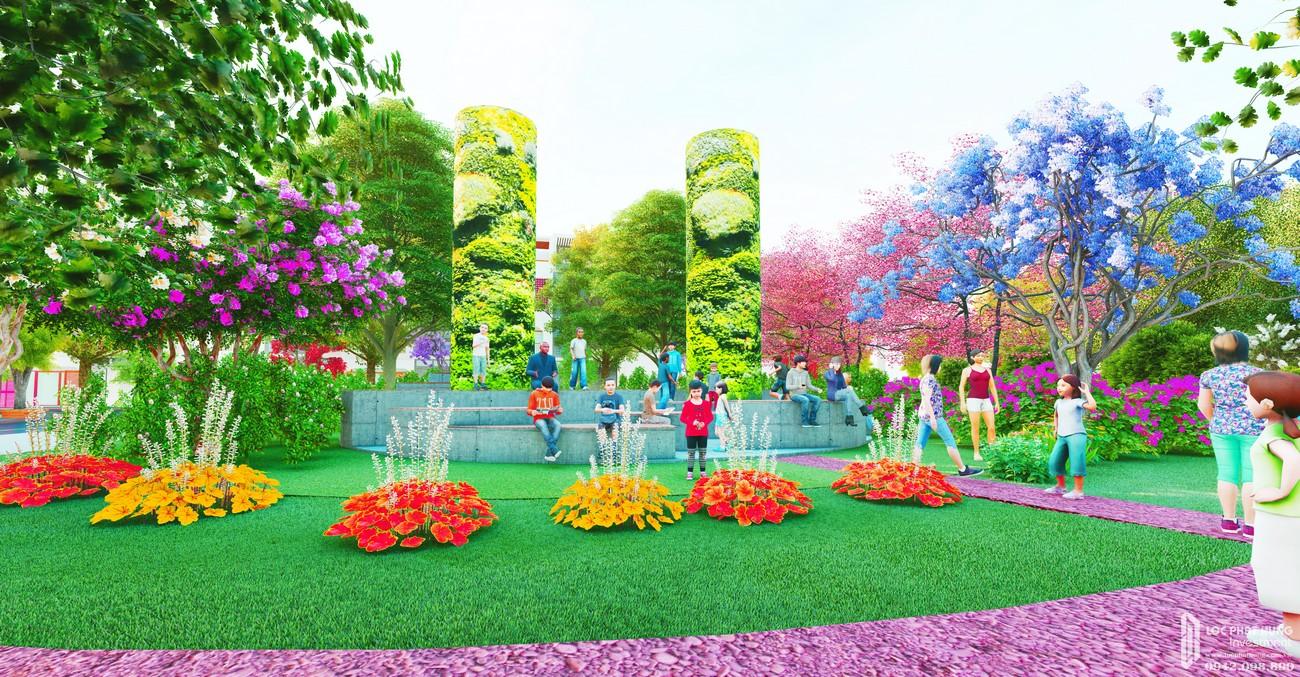 Tiện ích công viên cây xanh dự án đất nền Fenix City Châu Thành Đường Nam Sông Hậu chủ đầu tư Nam Châu