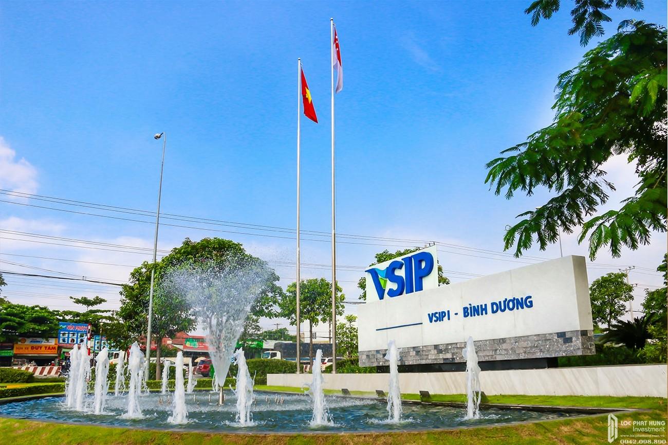Khu công nghiệp VSIP 1 Bình Dương cách dự án Lavita Thuận An khoảng 5 phút di chuyển.