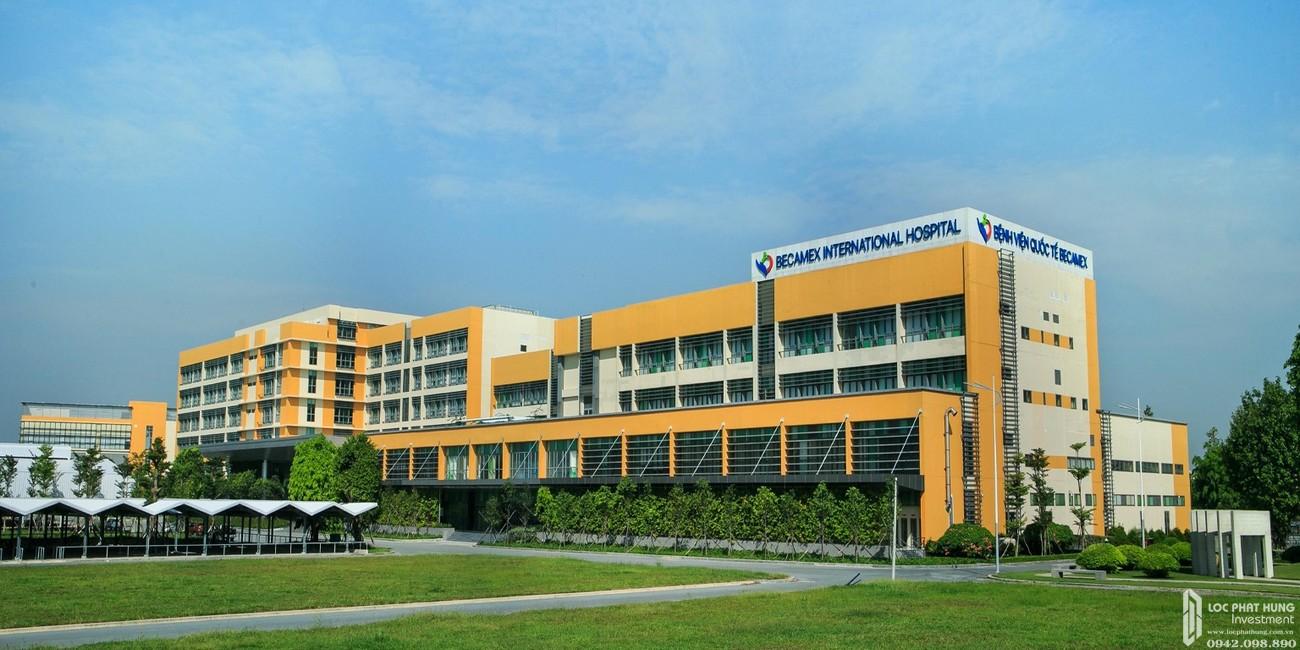 Bệnh viện Quốc tế Becamex cách dự án Lavita Thuận An khoảng 5 phút di chuyển