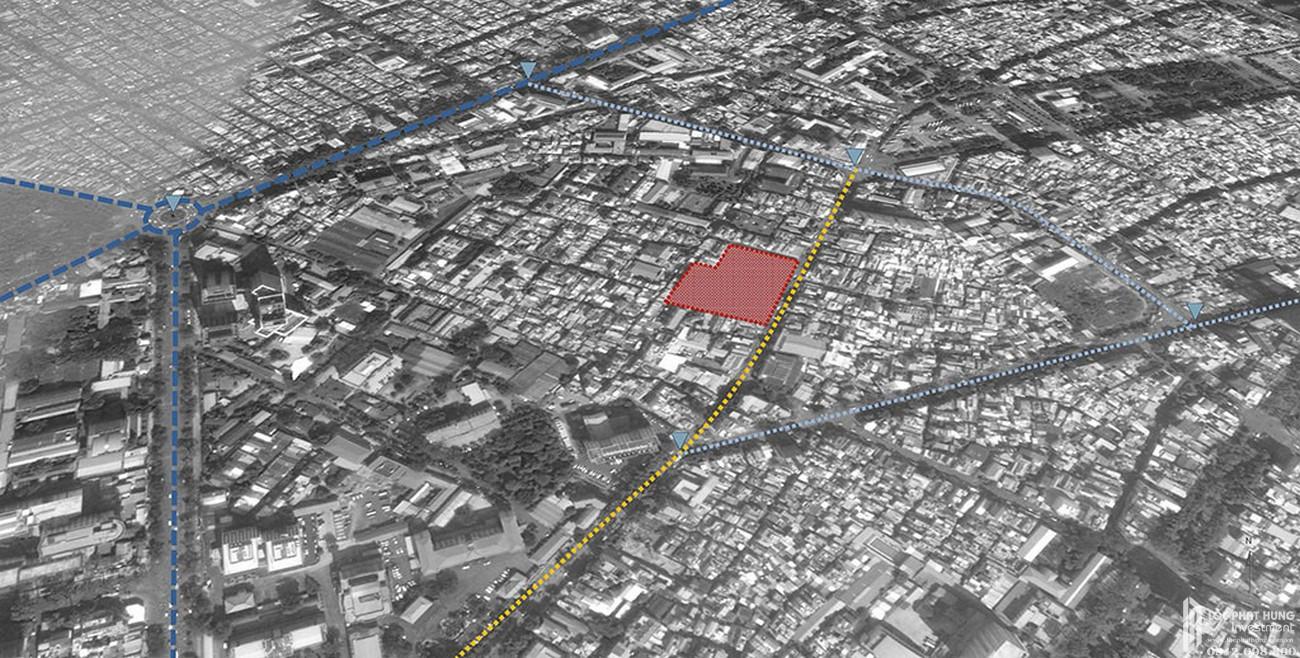 Ví trí dự án căn hộ Lancaster Legacy tại 230 Nguyễn Trãi Quận 1