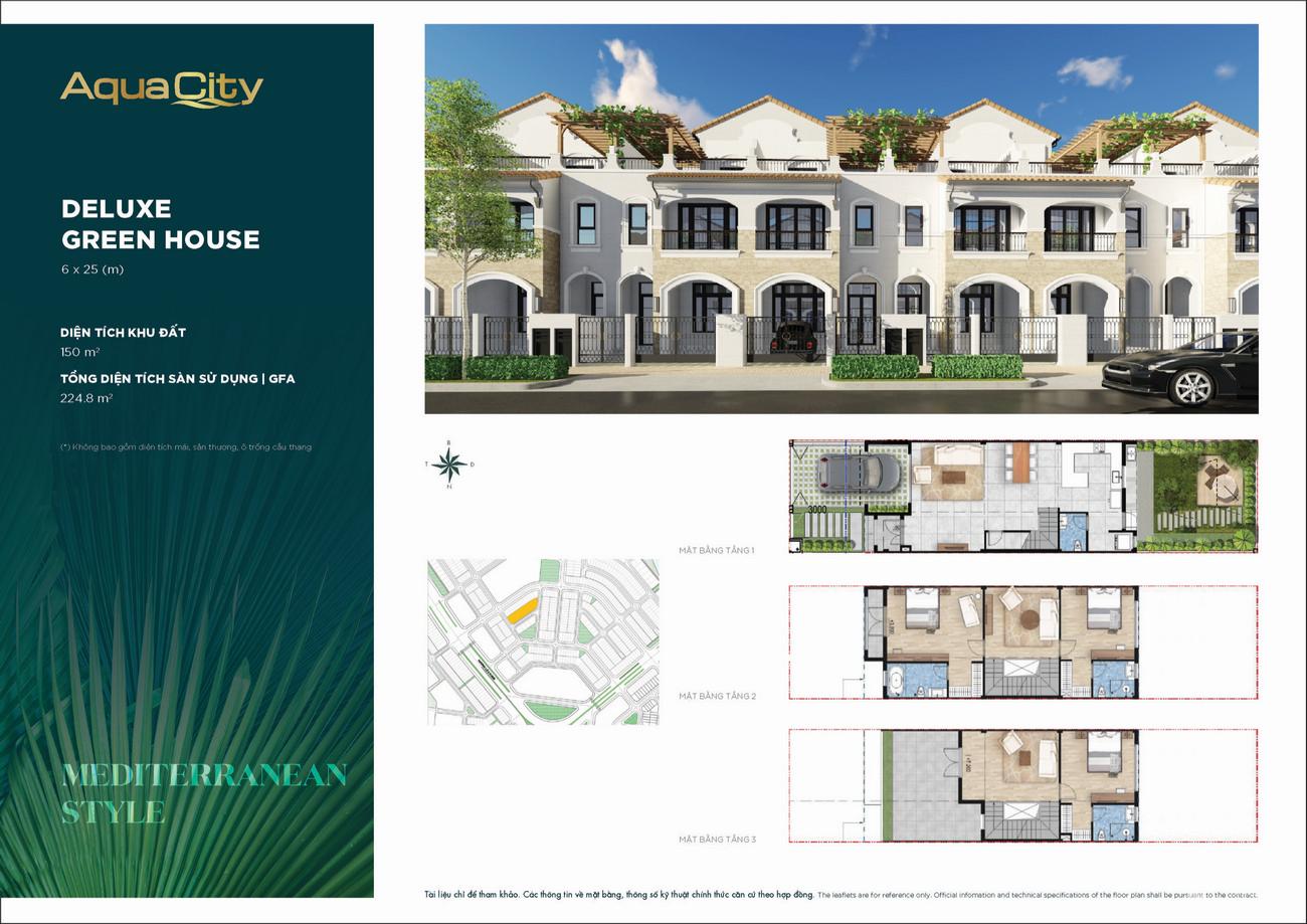 Thiết kế Aqua City The Stella dự án nhà phố Biên Hòa Đường Long Hưng chủ đầu tư Novaland