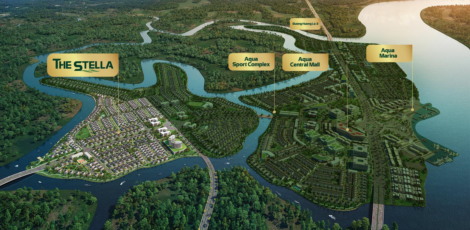 Phân khu Stella dự án Aqua City Novaland Đồng Nai