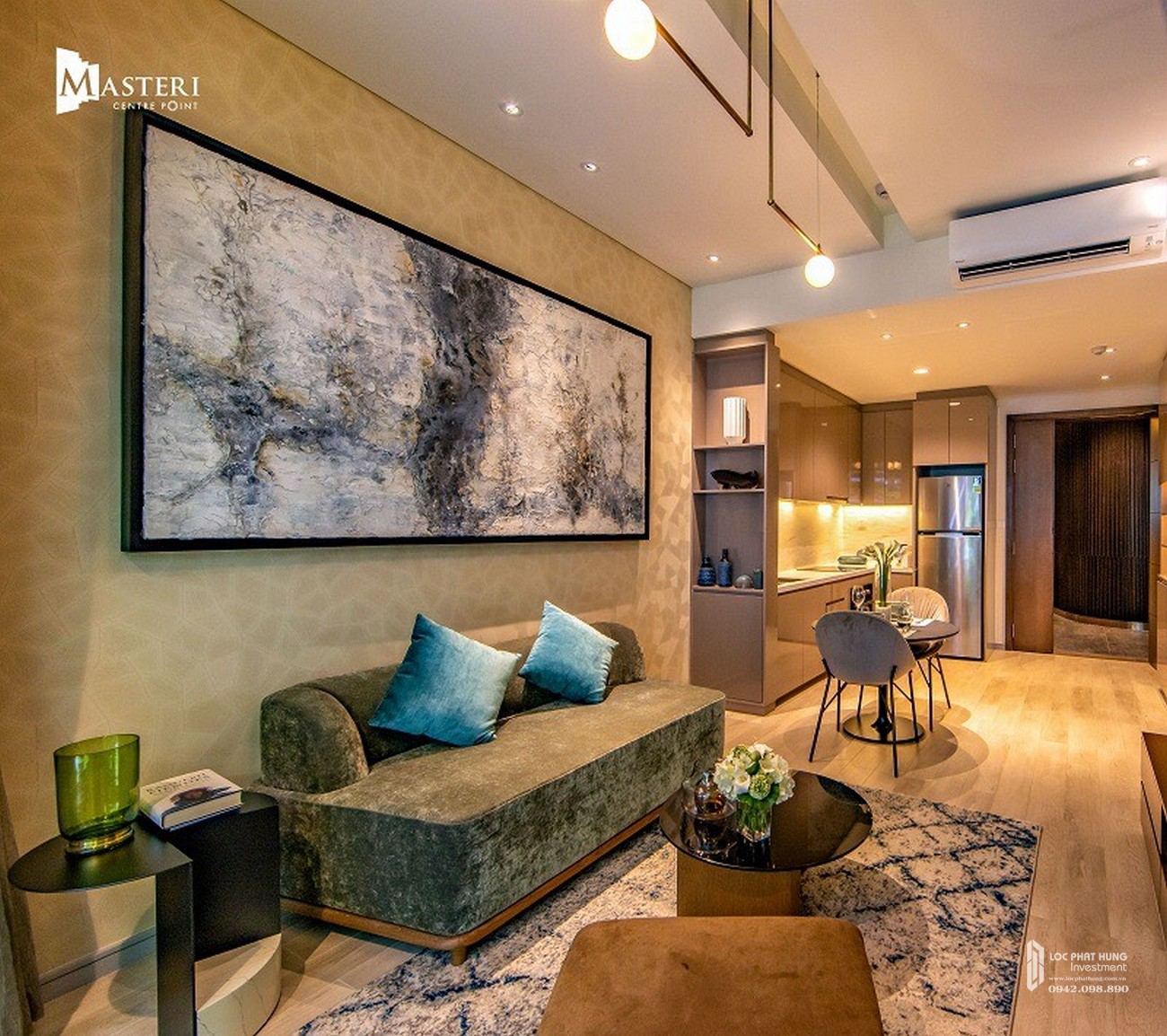 Nhà mẫu dự án căn hộ chung cư Masteri Centre Point Quận 9 Đường Nguyễn Xiển chủ đầu tư Vingroup