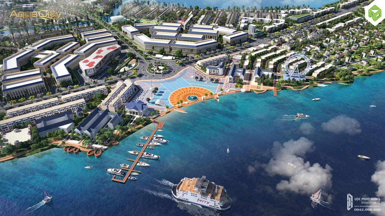 Giới thiệu dự án nhà phố Aqua City của nhà phát triển Novaland