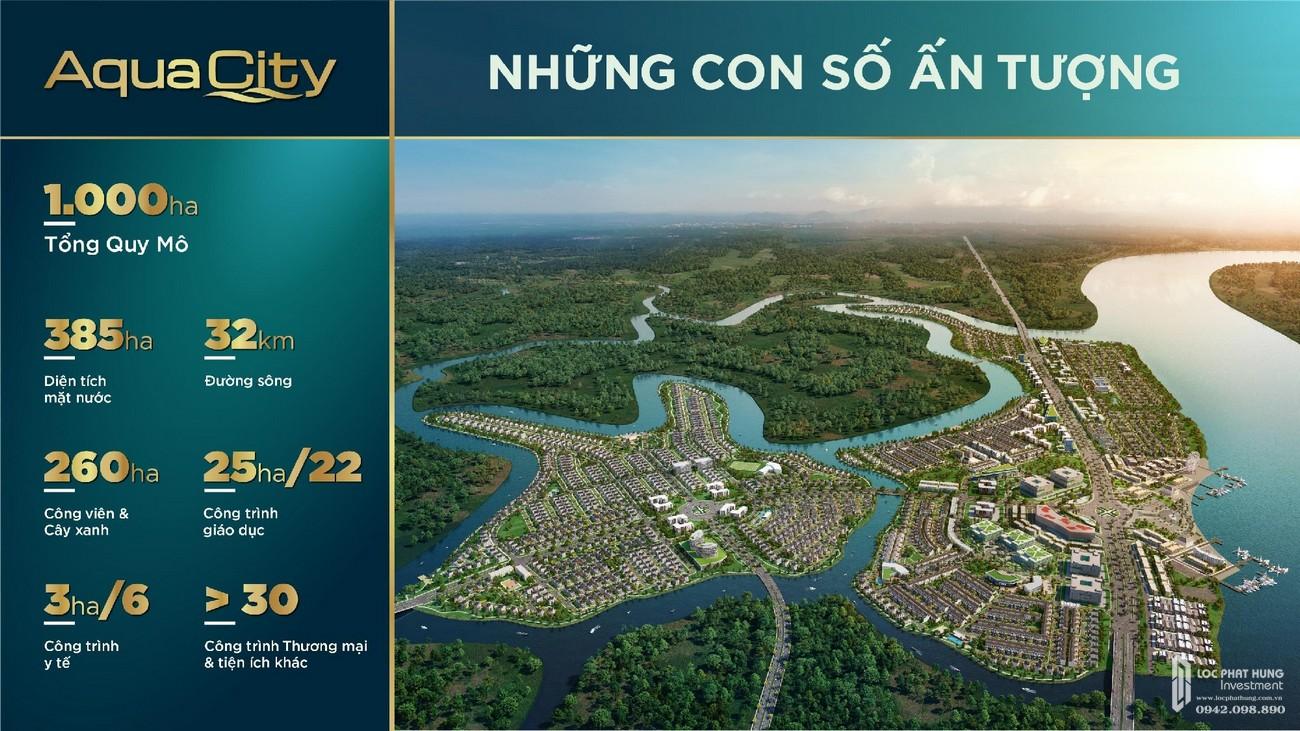 Những con số ấn tượng của dự án Aqua City nhà phát triển Novaland