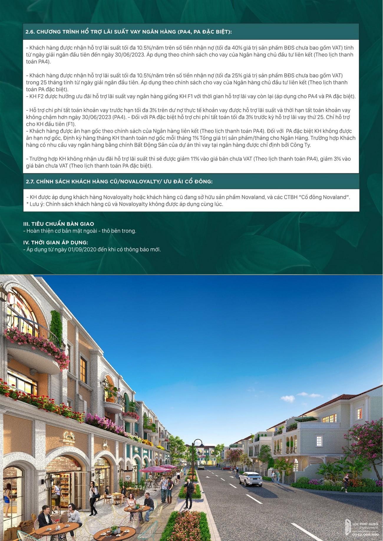 Chương trình bán hàng dự án Aqua City nhà phát triển Novaland
