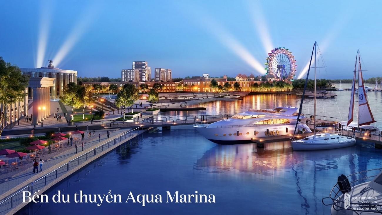 Bến du thuyền Aqua Marina lãng mạng dành cho gia đình vao những dịp cuối tuần trải nghiệm cùng nhau